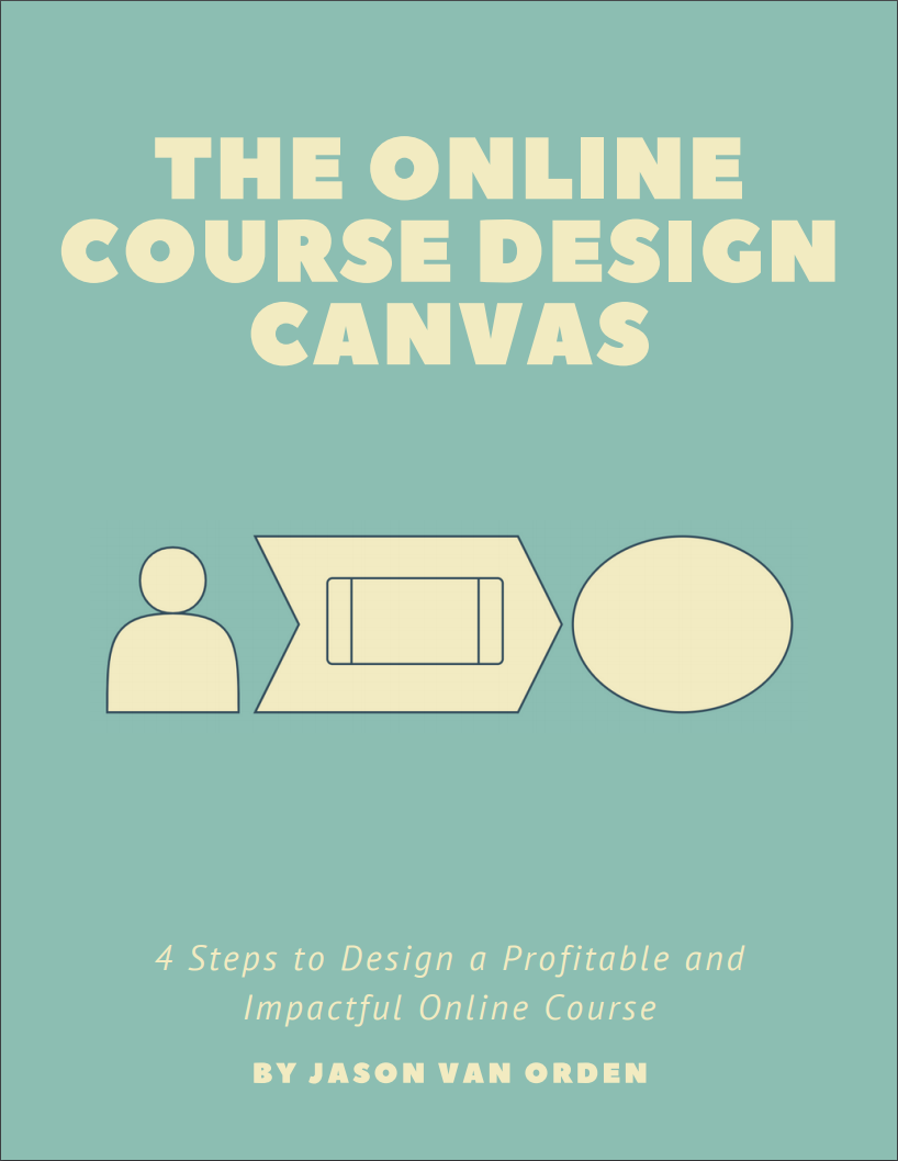 Download the Online Course Design Canvas